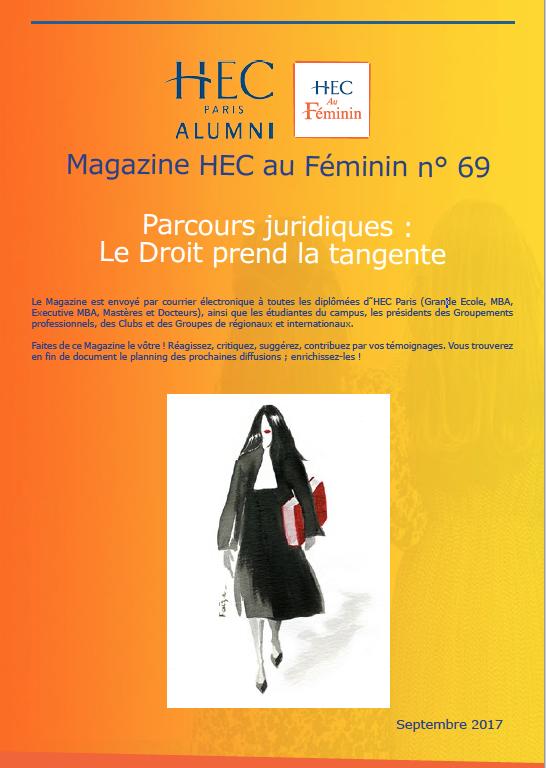 Magazine HEC au Féminin n69