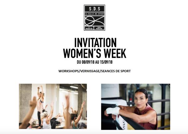 women week SDS