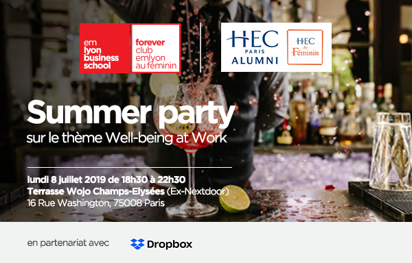 Summer Party EM Lyon HEC au Féminin